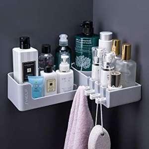 Mensola angolare per bagno o doccia