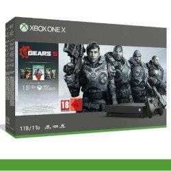 Console Microsoft Xbox One X Bundle Gears of War 5