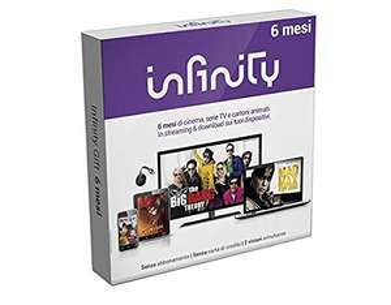 Infinity Cofanetto Regalo 6 Mesi Film Serie TV Cartoni Animati – Gift Box