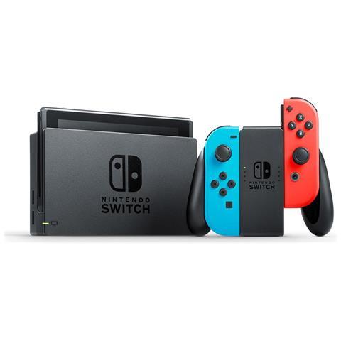 NINTENDO-Console Switch Joy Colore Rosso / Blu / Nero