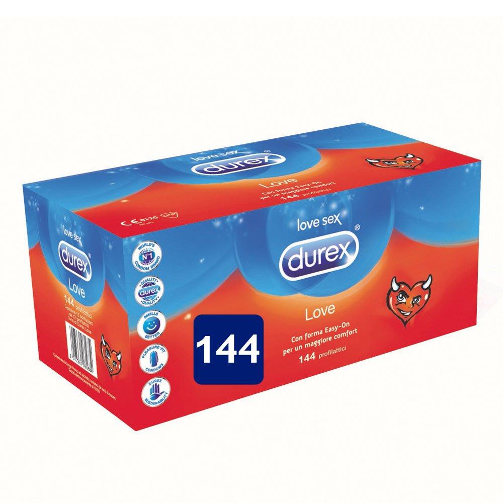 Durex Love Preservativi Comfort 144 pezzi