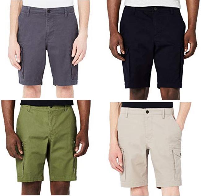 Pantaloncini Cargo Uomo Colori Vari 6.2€