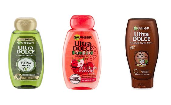 Garnier Set 12 Shampoo Nutriente Oliva Mitica Per Capelli Inariditi - 4250 Gr