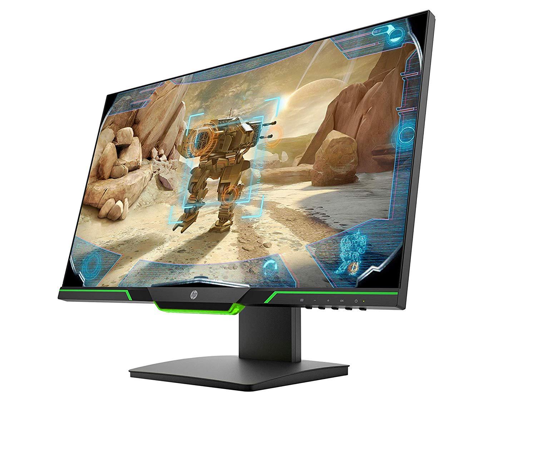 HP 25x Monitor Gaming TN, Schermo 25 pollici FHD, Risoluzione 1920 x 1080, Micro-Edge, Tecnologia AMD FreeSync