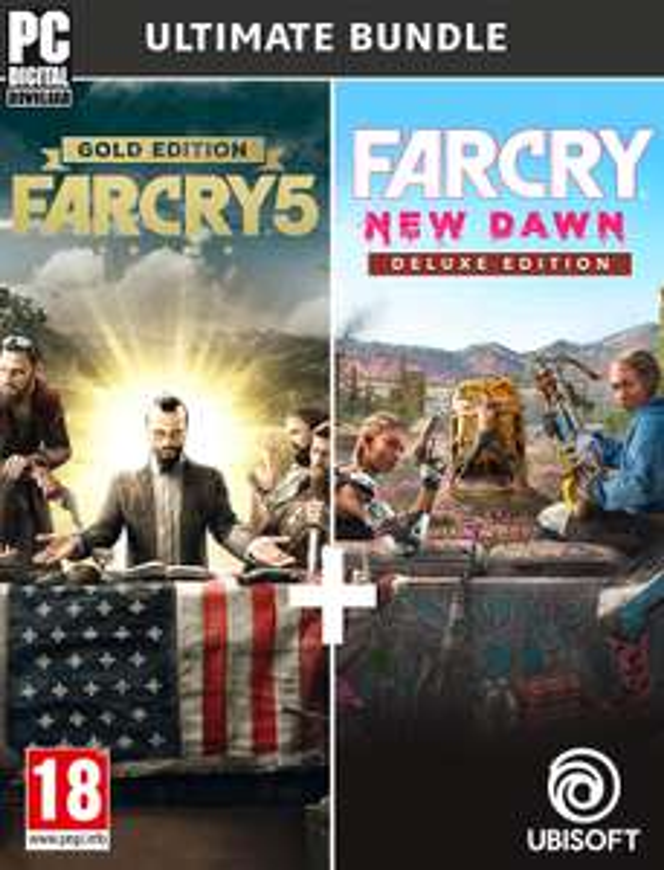 Far Cry New Dawn - Ultimate Edition (Bundle Far Cry New Dawn Deluxe + Far Cry 5 Gold)