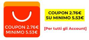 Coupon 2.86€ su Minimo 5.72€