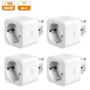 Presa Intelligente WiFi 16A Smart Plug Zoozee Pack 4