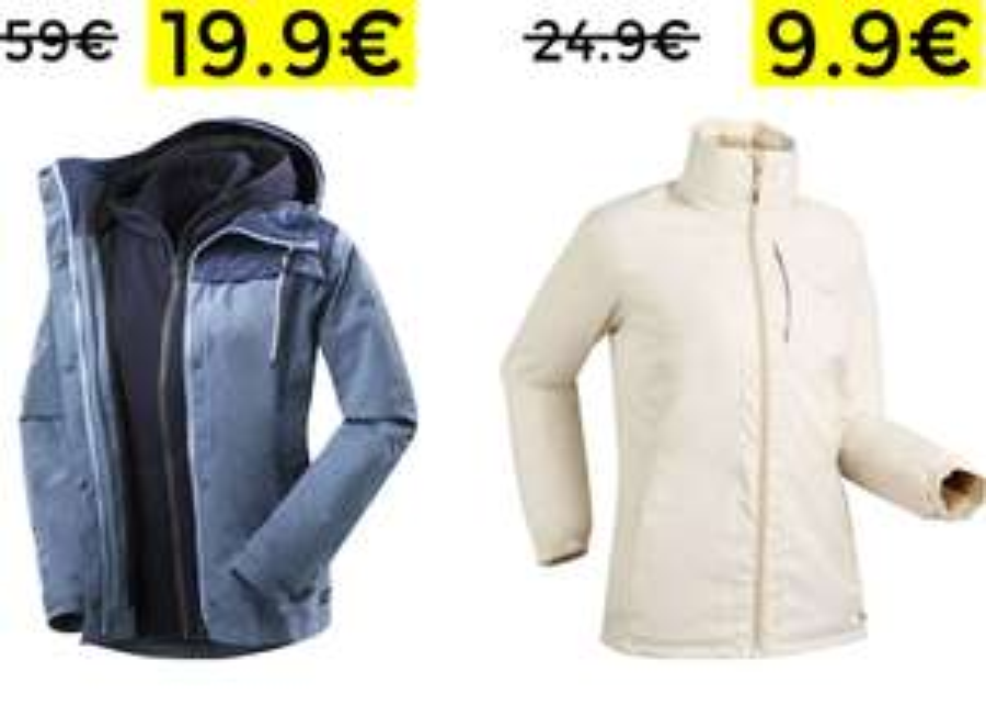 Saldi Decathlon abbigliamento donna 19€