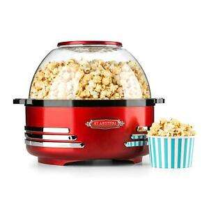 Macchina Pop Corn Professionale Popper Party Snack Divano Cinema Retrò 1000W