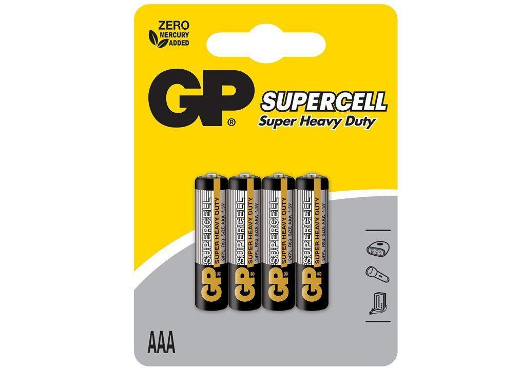 GP Battery VD152027 Set 4 Pile, Multicolore