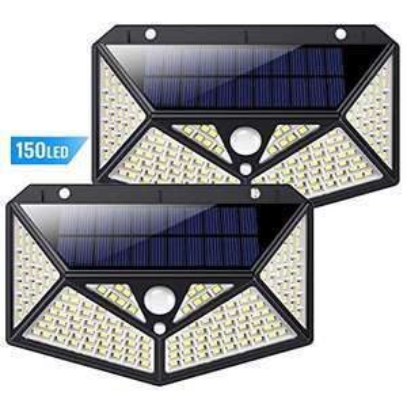 2X Luce Solare Sensore di movimento 15.6€