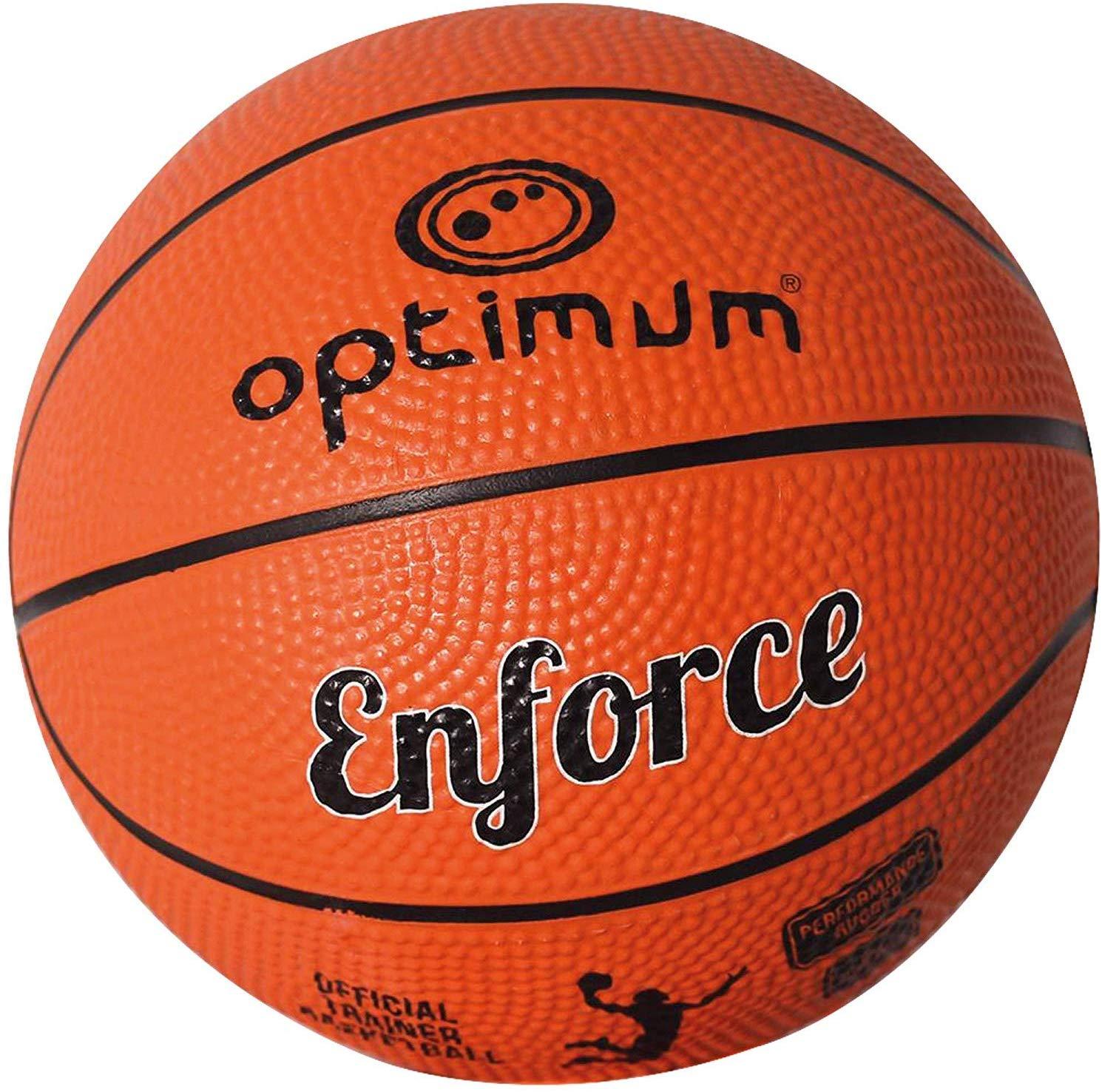 Optimum Enforce Palla da Basket TG 7 adulti (74-76 cm)