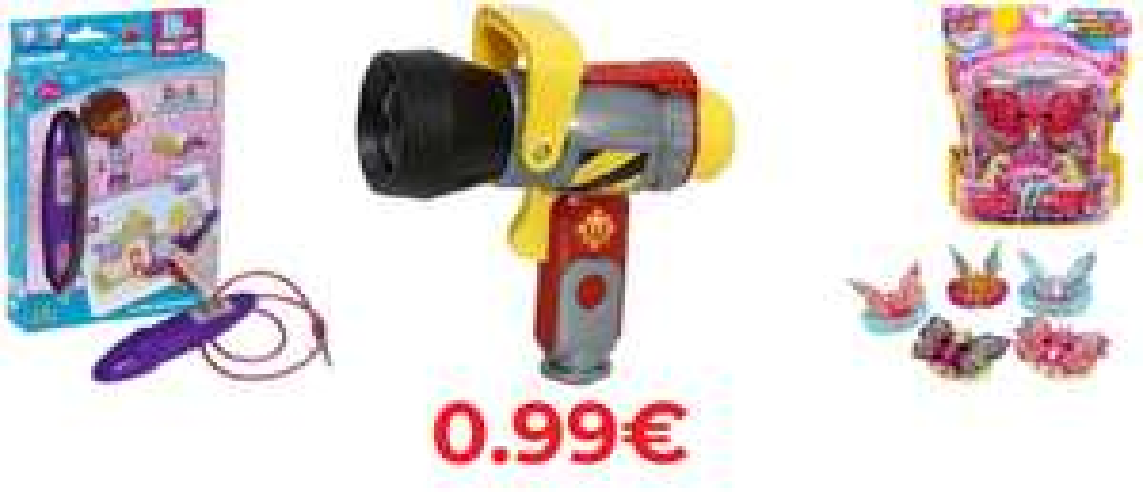 Tanti giocattoli in offerta 0.9€