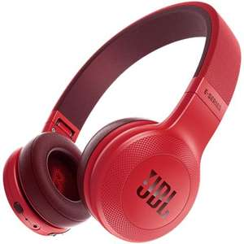 JBL-Cuffie Wireless E45BT Bluetooth colore Rosso