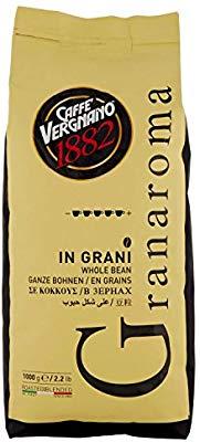 1Kg Caffè Vergnano 1882 Caffè in Grani Granaroma