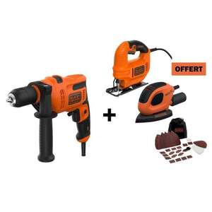 Set Black&Decker Trapano levigatrice seghetto 69.9€
