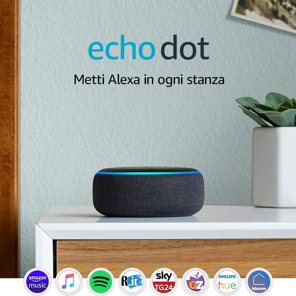 Amazon: Echo Dot a 29,99€