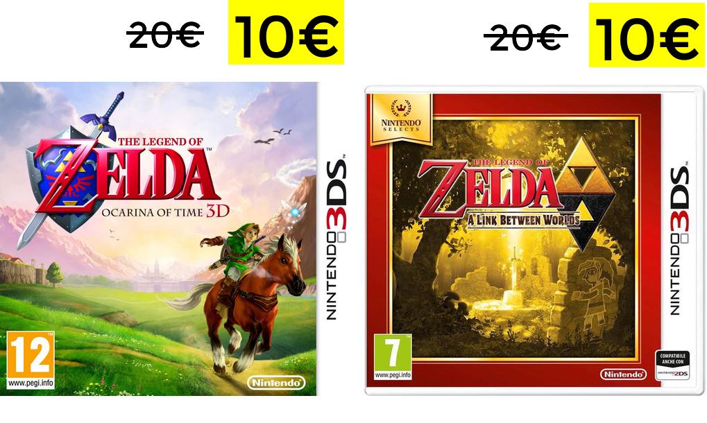 The Legend of Zelda Nintendo 3DS 10€