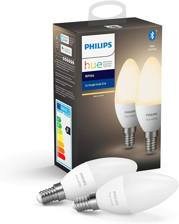 Philips Lighting Hue White Lampadine LED - Pack da 2