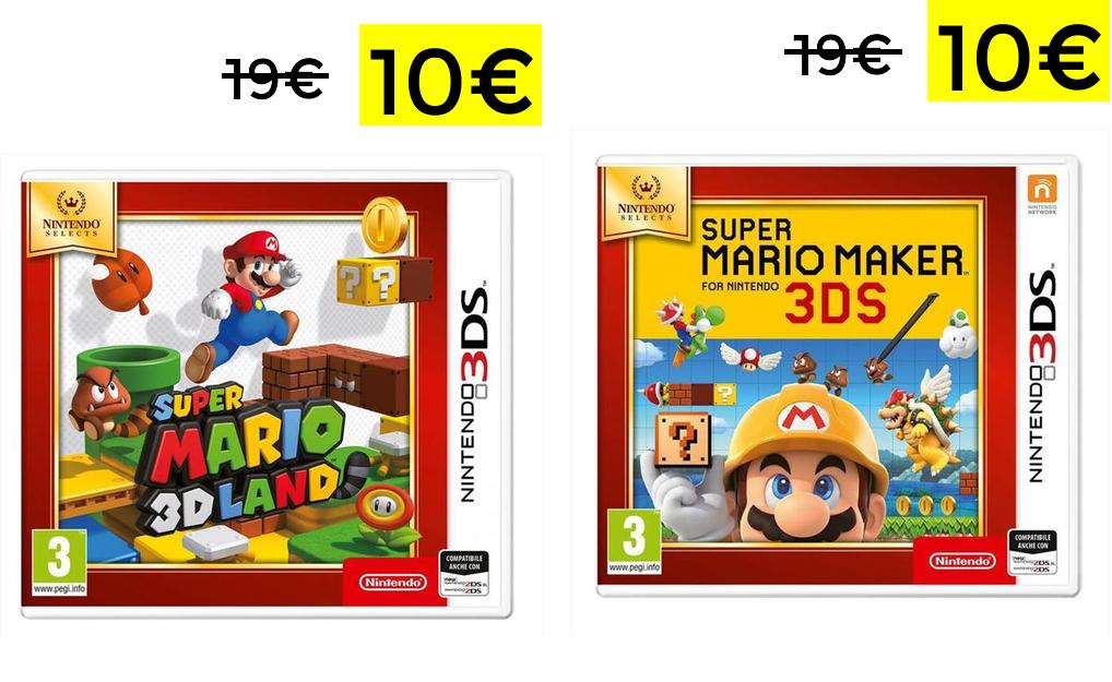 Selezione Super Mario Nintendo 3DS 9.9€