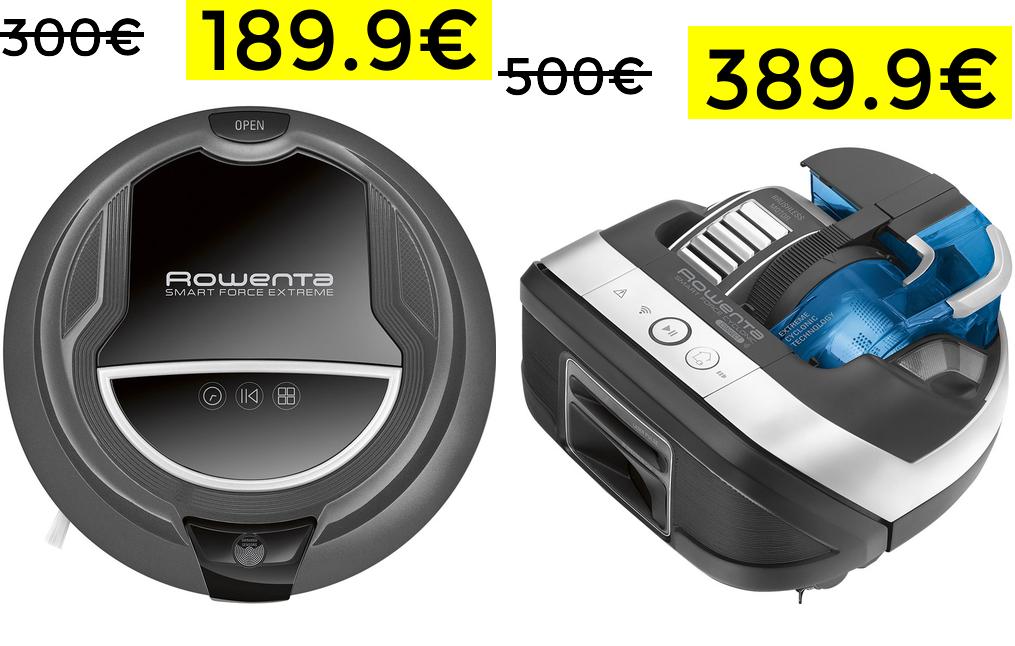 Robot Rowenta RR7126 - RR8021 189€