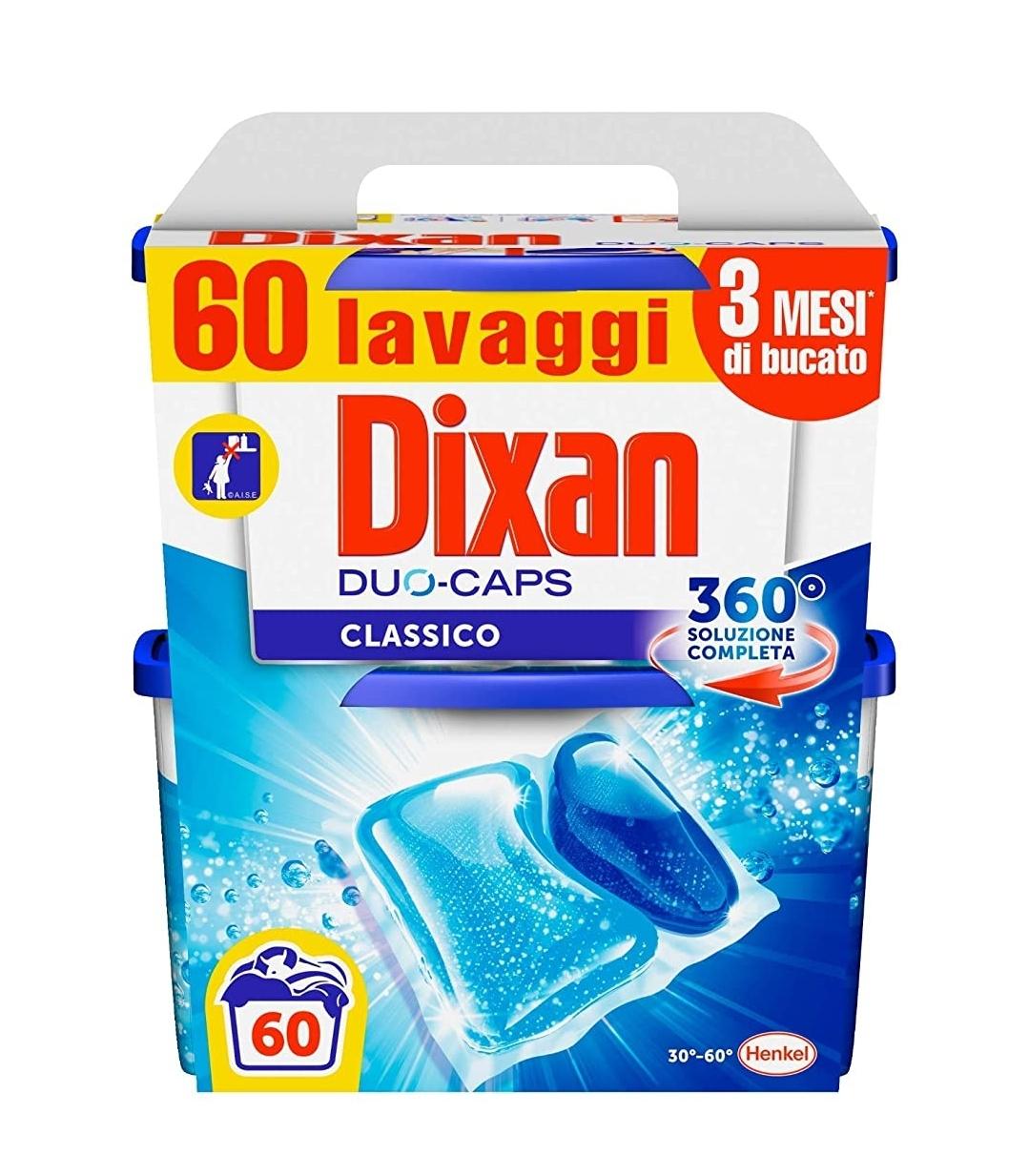 60x Dixan Duo Caps Classico