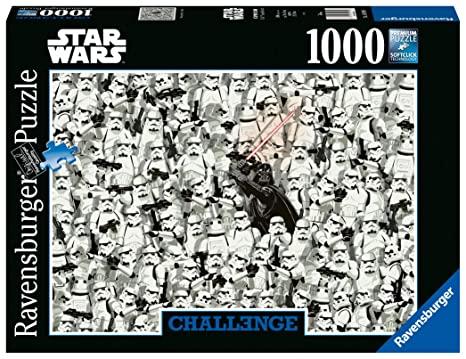Ravensburger Puzzle - Star Wars Challenge Puzzle, 1000 Pezzi