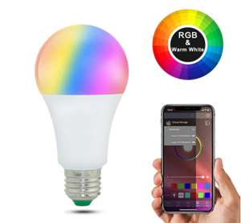 Lampadina RGB 15W con App 4.5€