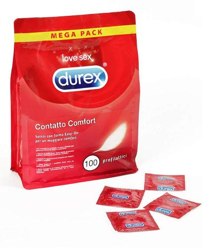 DUREX X100pz Profilattici Contatto Comfort 27.9€