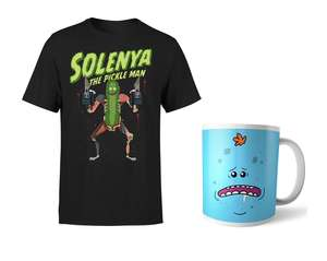 T-shirt + tazza RICK & MORTY 9.9€