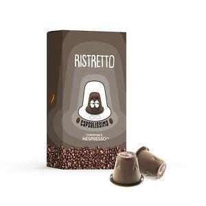 100 capsule compatibili Nespresso - Miscela Ristretto - Capsulissima