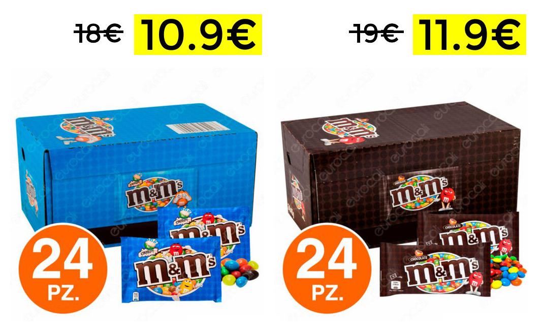 M&M's Box da 24 10.9€