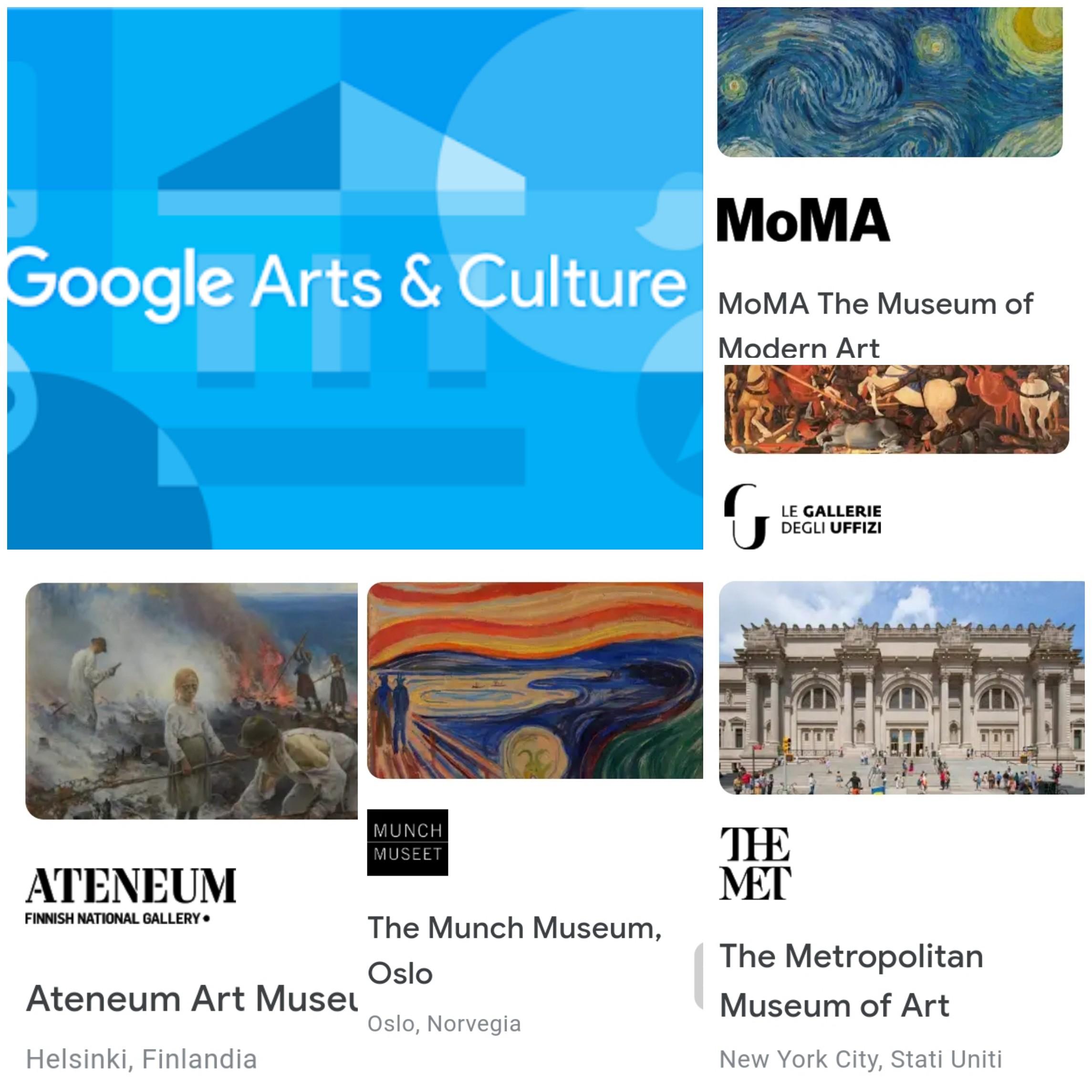 #iorestoacasa - Google Arts & Culture
