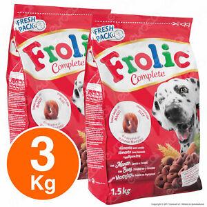 Frolic Cibo Semi Umido per Cani con Manzo, Carote e Riso - 3KG