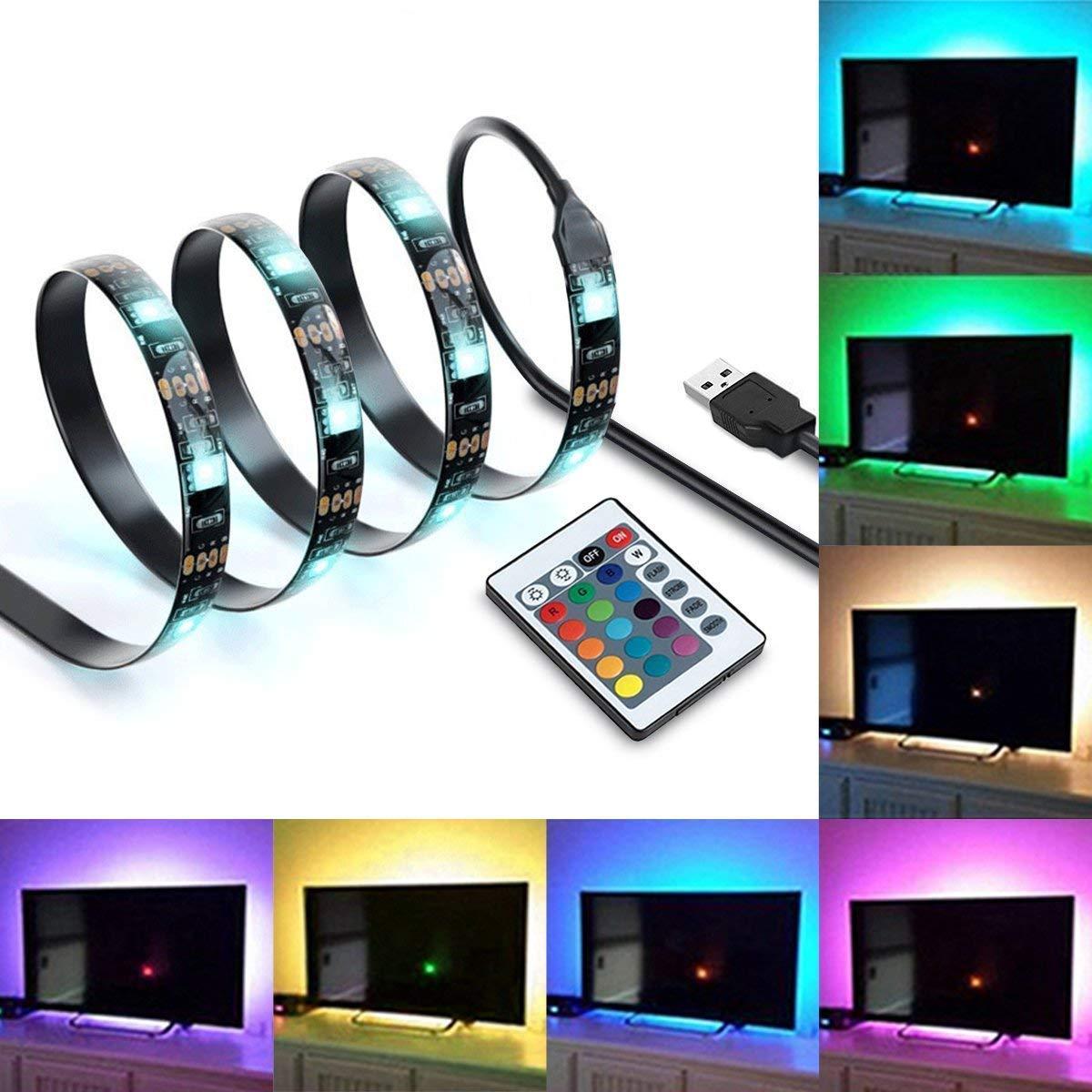 IREGRO 200cm TV LED Posteriore di Illuminazione Kit, Mul