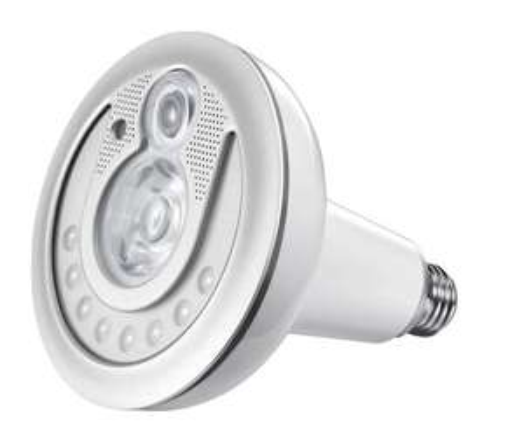 Lampada Led con Telecamera IP.