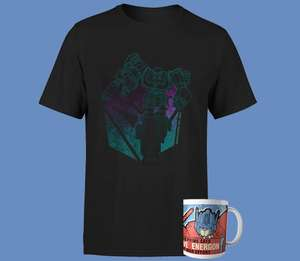 T-Shirt + Tazza Transformers 9.9€