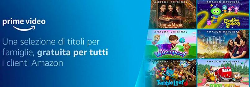 Amazon Prime Video - Contenuti Gratis per TUTTI #iorestoacasa