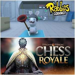Copia Gratuita Ubisoft: Rabbids Coding e Chess Royale