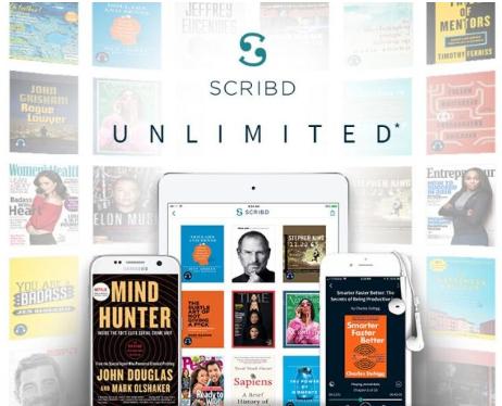 Scribd Unlimited GRATIS 2 Mesi