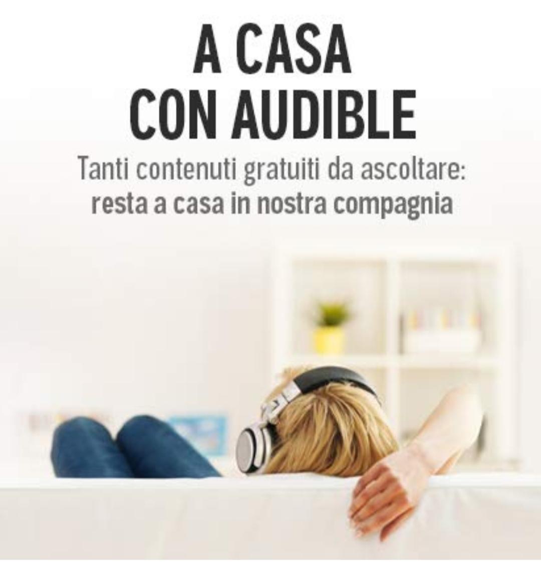 Audiolibri gratis su Audible.