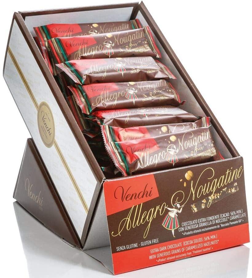 Venchi Confezione Barrette Allegro Nougatine, 1200 gr