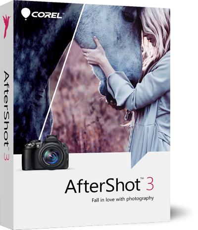Corel AfterShot 3 Editor di foto GRATIS