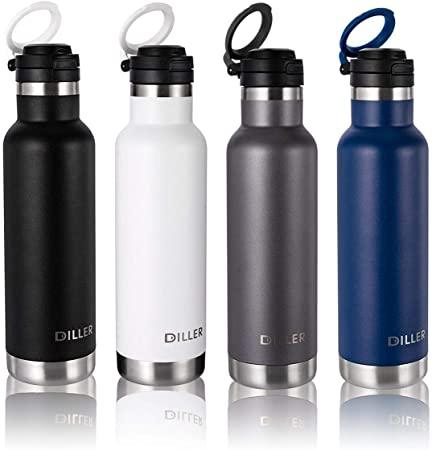 Diller Thermos Bottiglia Acciaio Inossidabile di Isolamento Tazza da Viaggio da caffè Sport Acqua IT9803