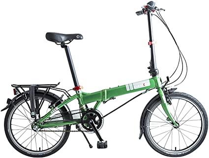 "Dahon Mariner i3, Bicicletta Pieghevole Unisex Adulto, Verde, 20"""