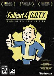 Fallout 4: Game of the Year Edition PC - Cdkeys.com