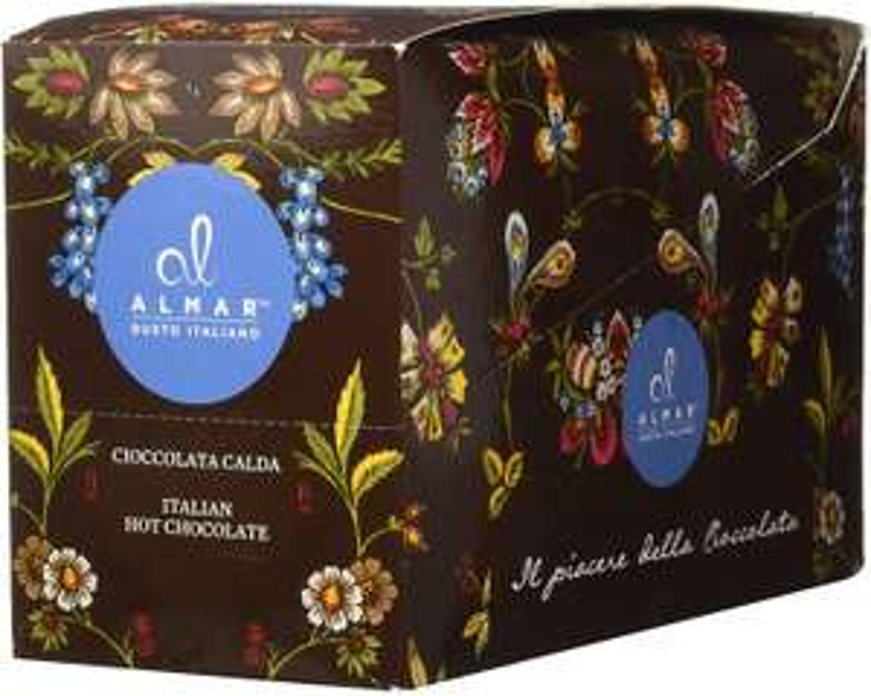 Almar Cioccolata Calda Cortina monoporzione 25x30g - gusto RHUM