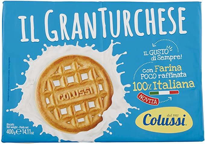 Colussi Gran Turchese Biscotti Gr.400 - [confezione da 4]