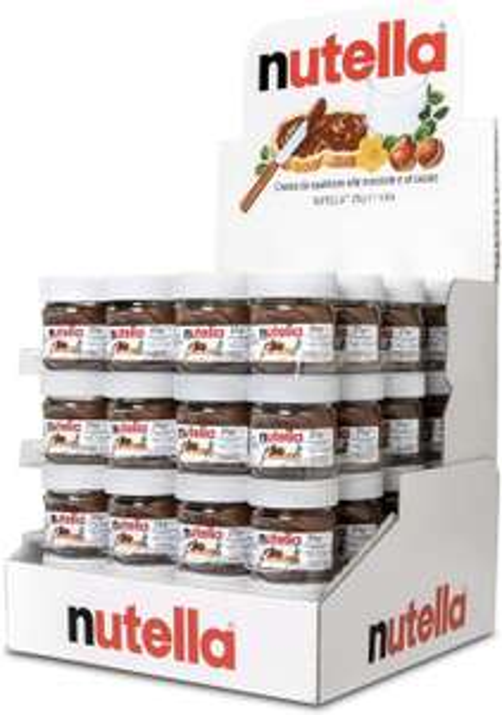 Nutella - 64 mini vasetti da 25g ognuno