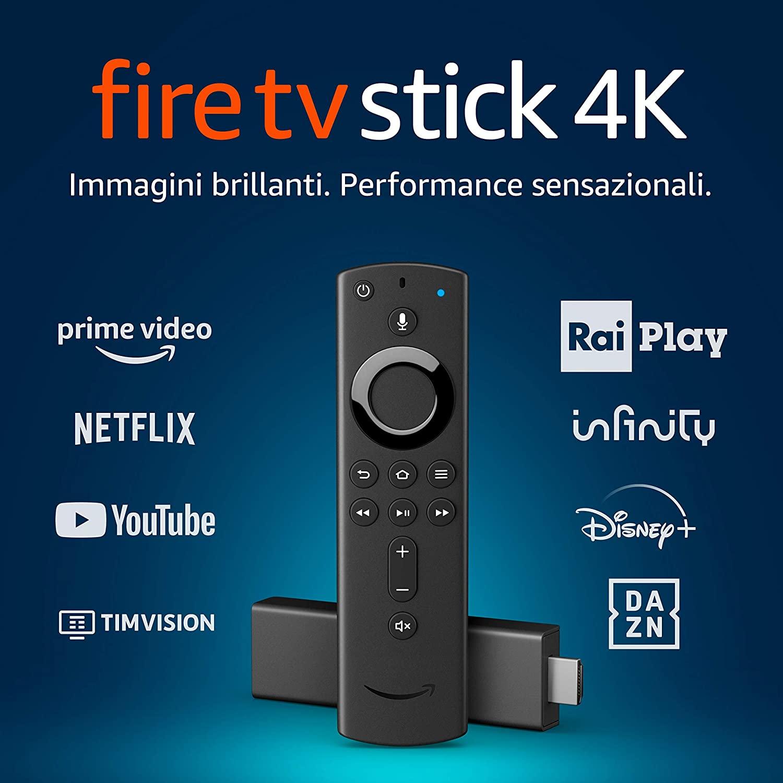 AMAZON FIRE TV 4K + TELECOMANDO ALEXA